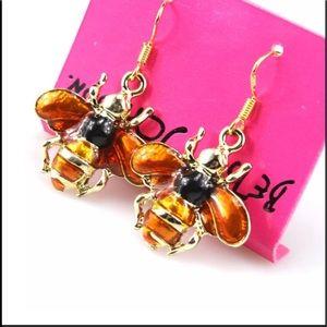 Betsey Johnson Honeybee Earrings